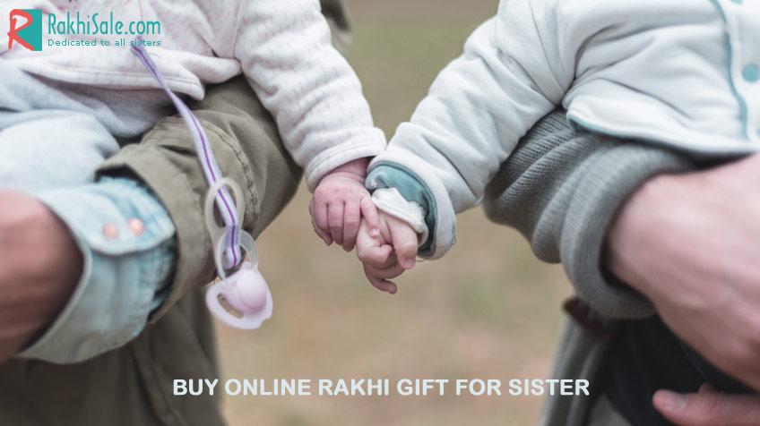 Buy online Rakhi gift for sister