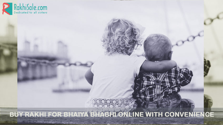 Buy Rakhi for Bhaiya Bhabhi online