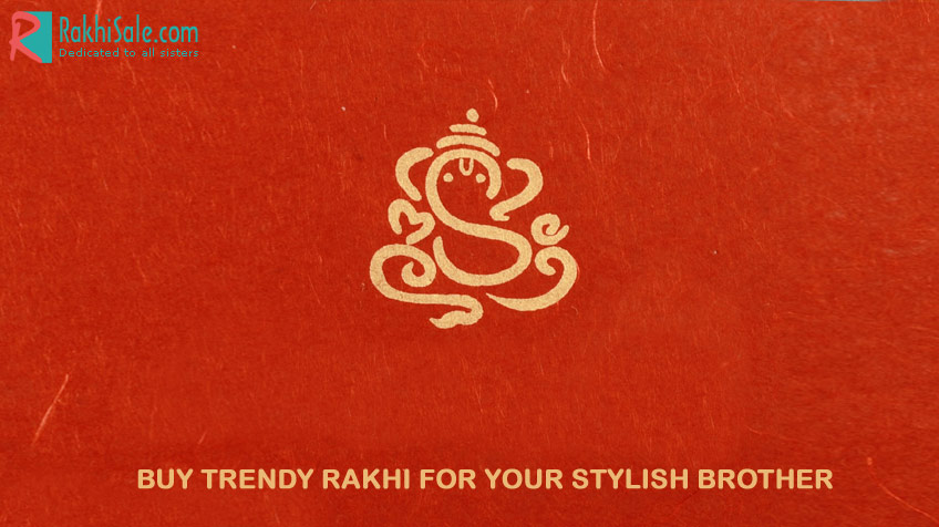 Buy Trendy Rakhi for  your stylish brother