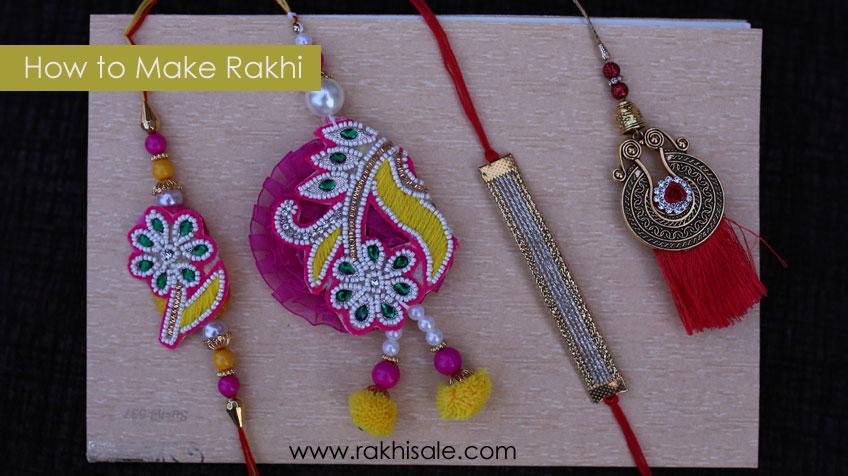 How to Make Handcrafted or Handmade Rakhi
