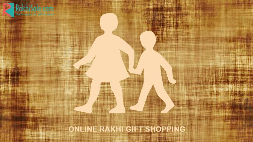 Online rakhi gift shopping