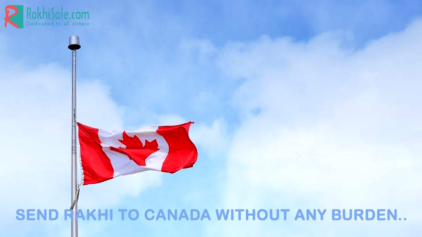 Rakhi to Canada without any burden on your pocket