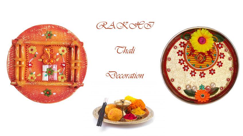 Rakhi Pooja Thali Decoration