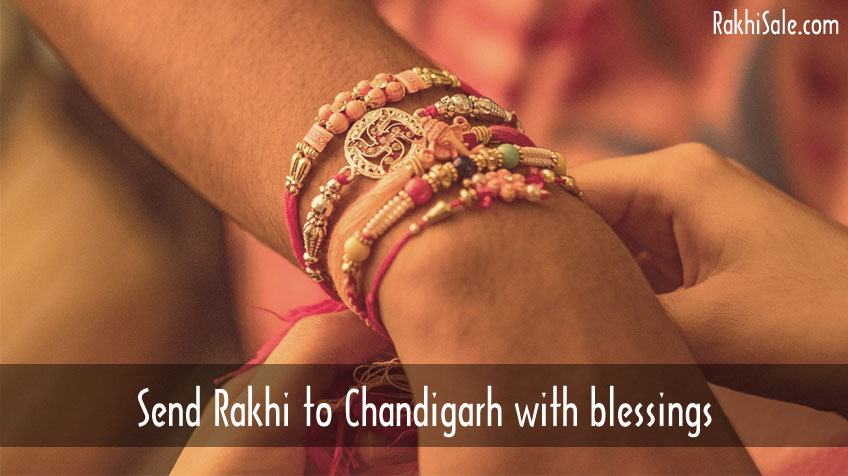 Rakhi to Chandigarh with blessings
