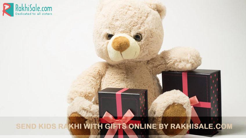 Kids Rakhi Online with Gifts
