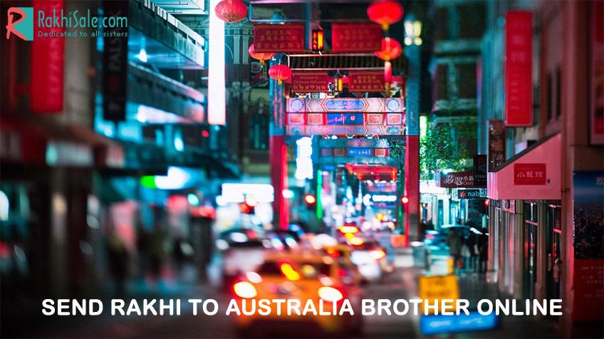 Rakhi to Australia brother online