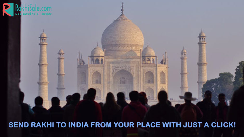 Rakhi to India from your place with just a click!