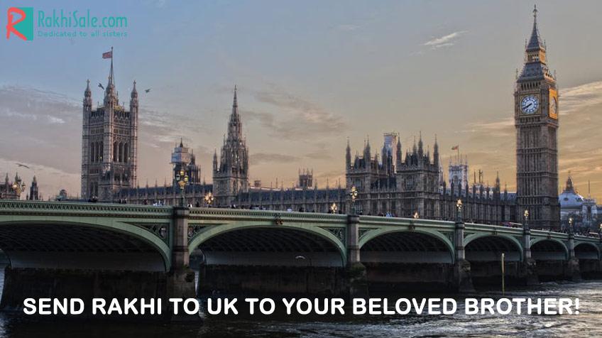 Send Rakhi to UK to your beloved brother!