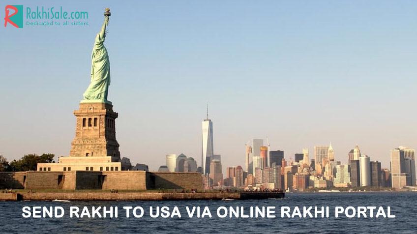 Rakhi gifts to USA via online rakhi portal