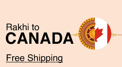 Send Rakhi to Canada with Free Delivery
