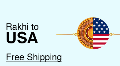 Send Rakhi to USA with Free Delivery