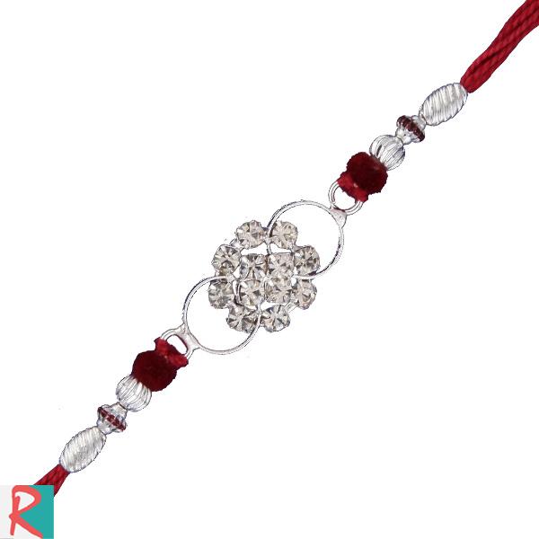 Pearl creation rakhi