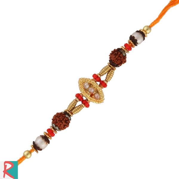 Rudrakesh jewel rakhi