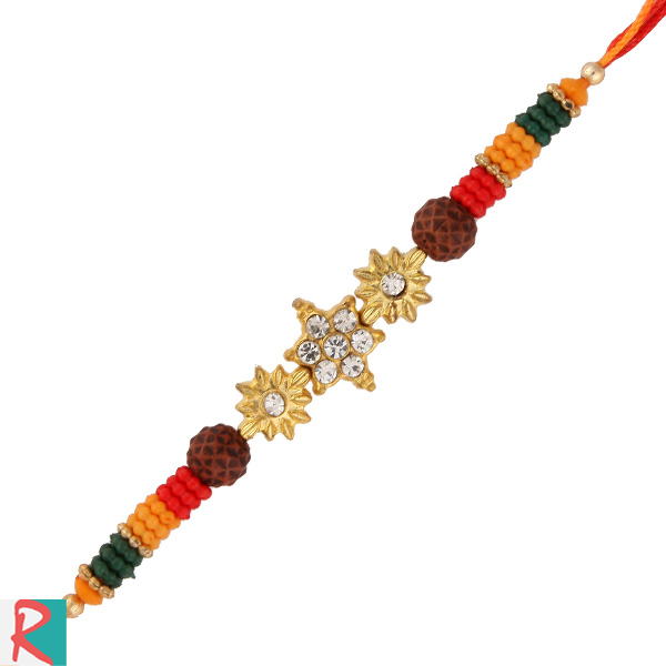 Star rudrakesh diamond rakhi
