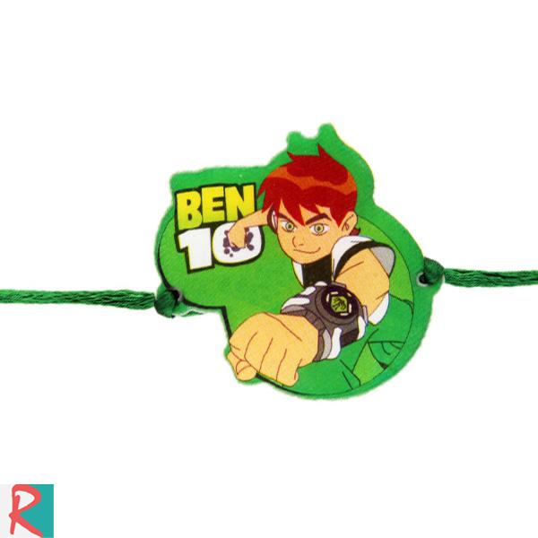 Ben 10 green rakhi