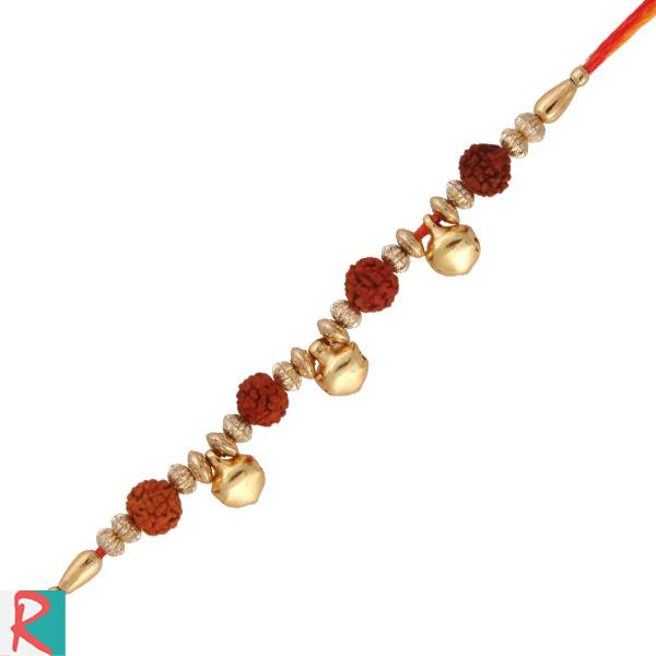 Divine ghunghru rakhi for brother