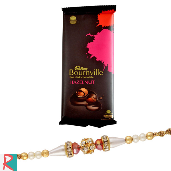 Rakhi with bournville chocolate
