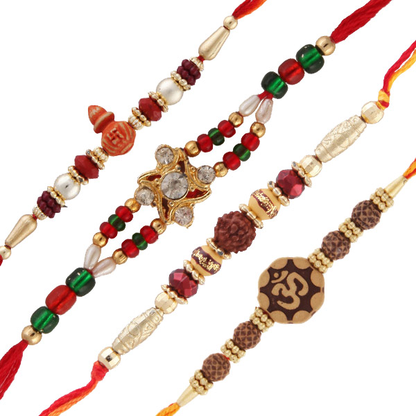 Four rakhi set 1