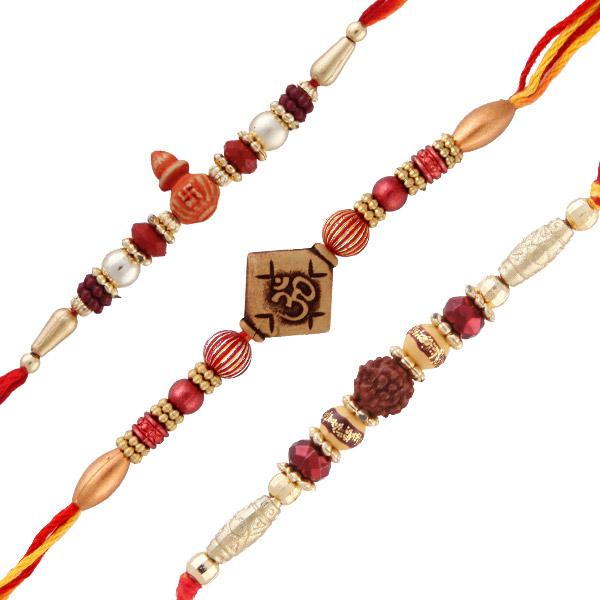 Three rakhi set 2