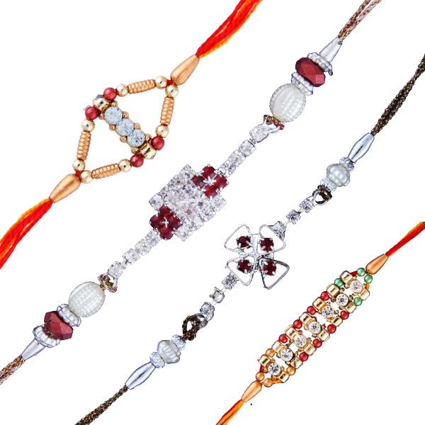Four rakhi set 3