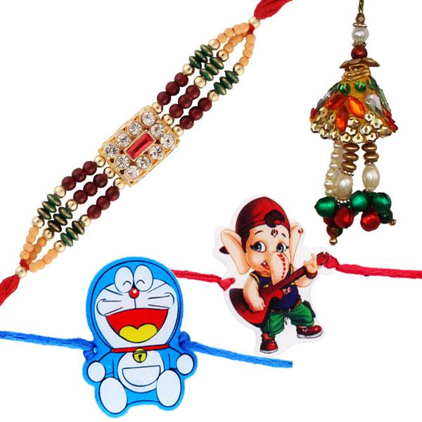 Four rakhi set 4