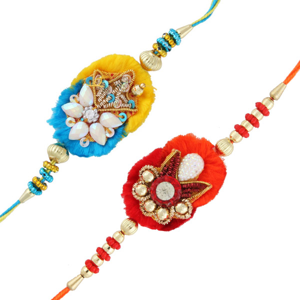 Two rakhi set 5