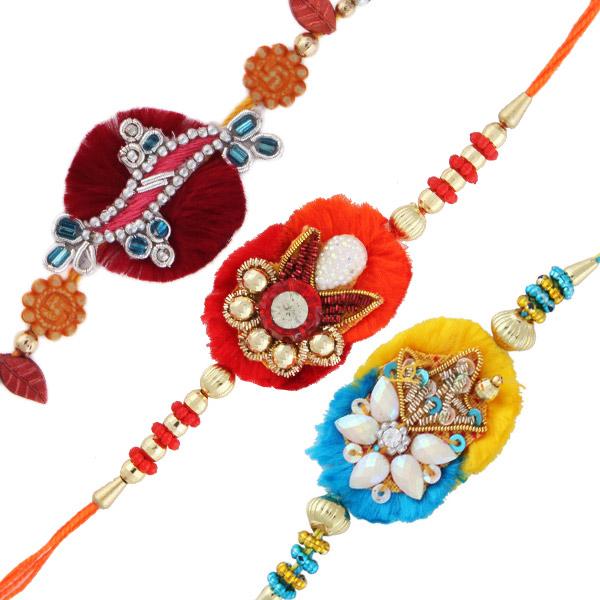 Three rakhi set 5
