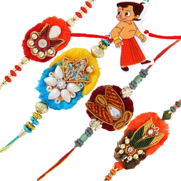 Five awesome rakhi set 1
