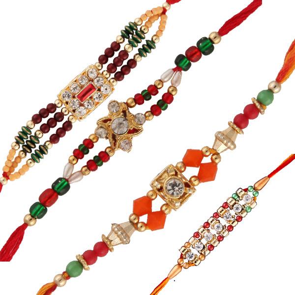 Four rakhi set 9