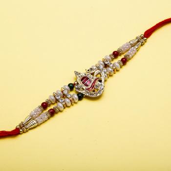 Shivling jewel rakhi