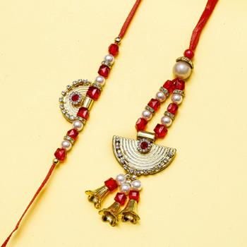 Love Bell Bhaiya Bhabhi Rakhi