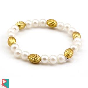 Goldan beads bracelet band