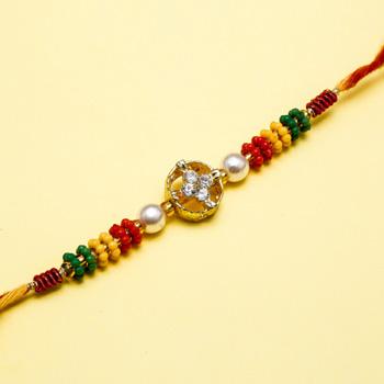 Fine jewel rakhi