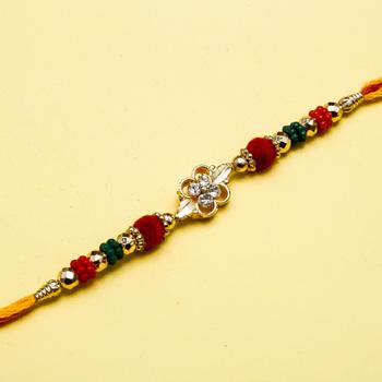 Exalted jewel rakhi
