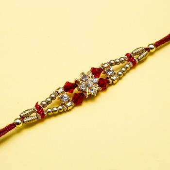 Designer diamond rakhi