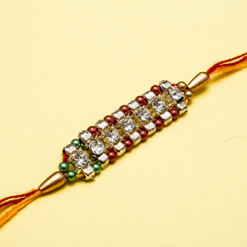 Diamond bracelet for bhaiya