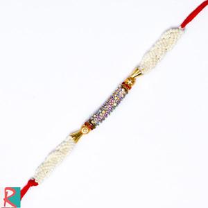 Sun Shade Diamond Designer Rakhi
