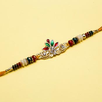 King designer work rakhi