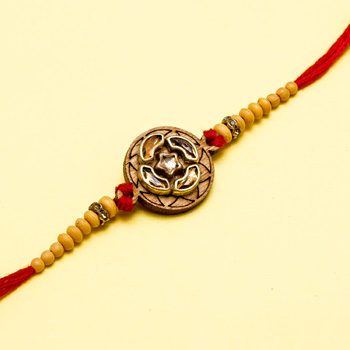 Star Circle Rakhi For Brother