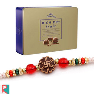 Cadbury rich dryfruit with rakhi