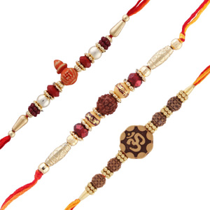 Three rakhi set 1