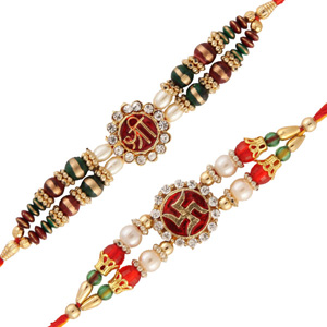 two rakhi set 2