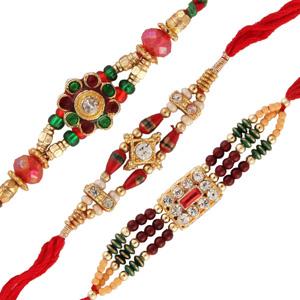 Three rakhi set 3