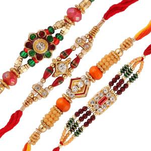 Four rakhi set 2