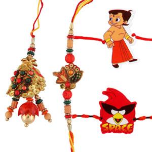 Five rakhi set 5
