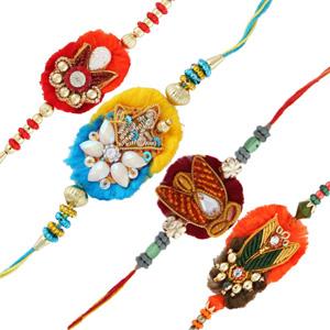 Four rakhi set 8