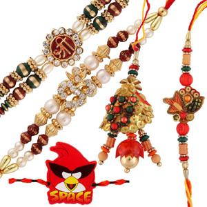 Five rakhi set 8