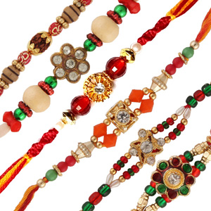 six rakhi set 2