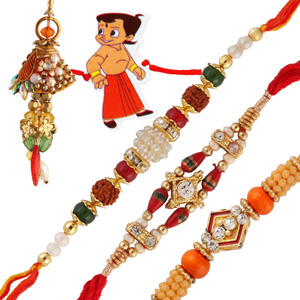 Five rakhi set 9