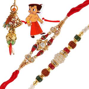 Four rakhi set 15